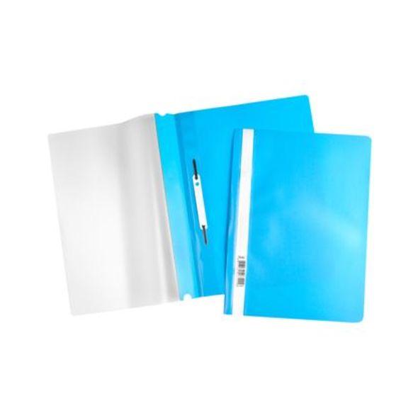 Скоросшиватель А4 120/160мкм голубой ASp_04310
