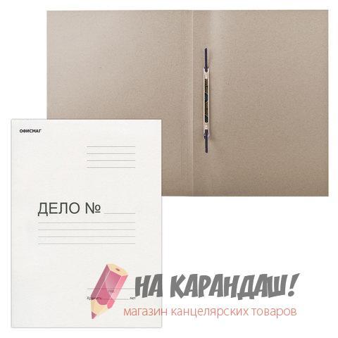 Скоросшиватель карт 280гр Офис маг 124577 /200/