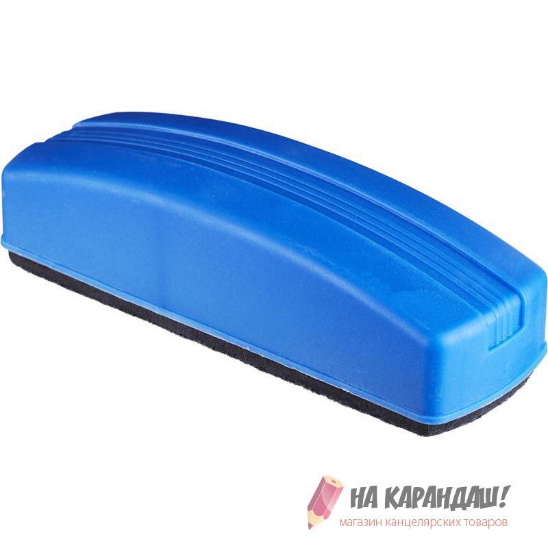 Губка для доски магн160*55мм 328745 с пласт держателем