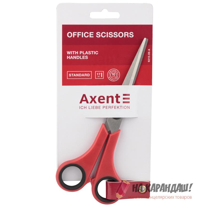 Ножницы AX6215-06 Standard 170мм красн