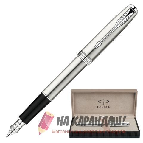 Ручка перо PAR Sonnet F526 St Steel CT S0809210