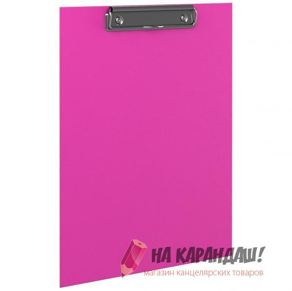 Клип-борд А4 Neon розовый EK45411