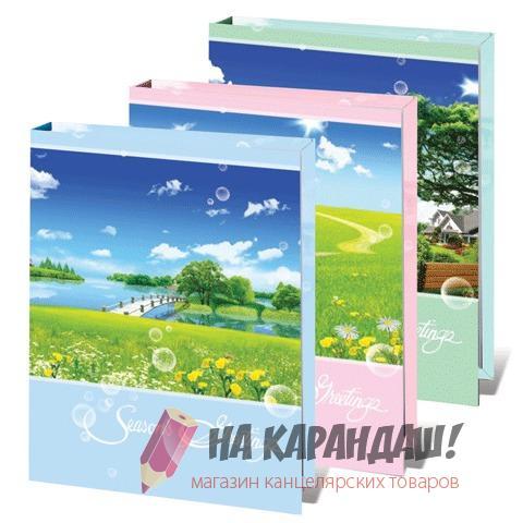 Фотоальбом 36ф. 10*15см Весенний пейзаж 390657