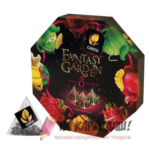 Чай Curtis Fantasy Garden 40саше mix 8видов по 5шт 52003/621553