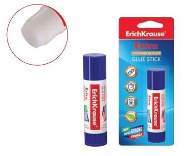 Клей-карандаш Erich Krause Extra 8 гр PVP EK4746