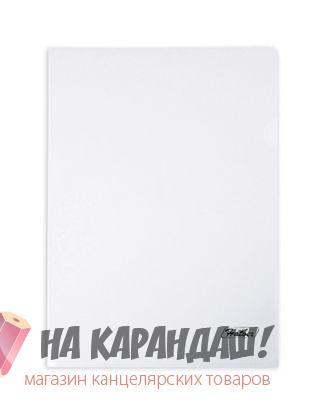 Папка-уголок А4 Hatber 180мк AG4_00100 прозр