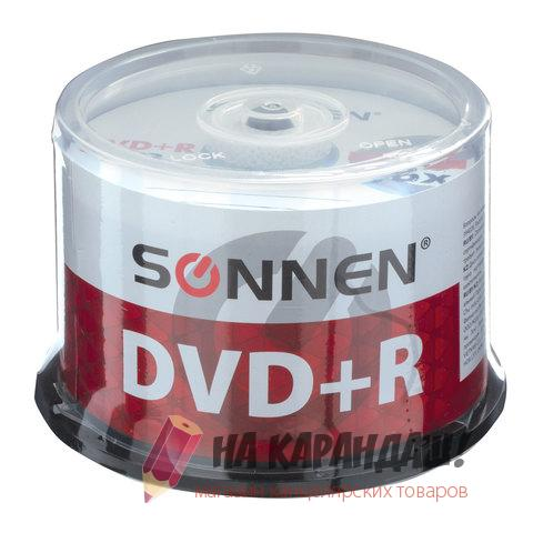 DVD+R Sonnen 4.7Gb 512577 Cake Box 50шт