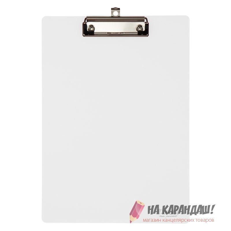 Клип-борд А4 АХ2515-27 пл прозр