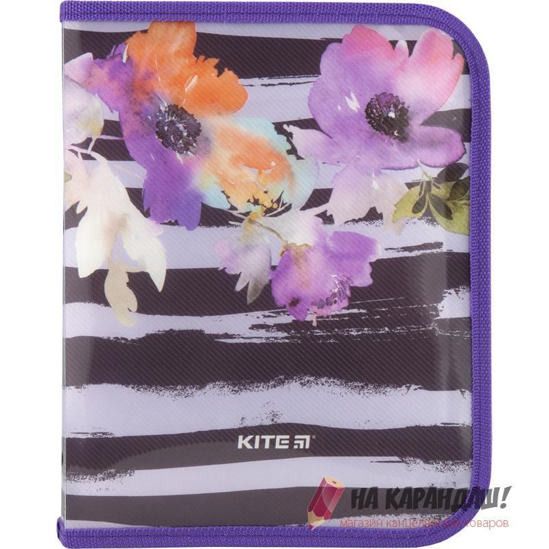 Папка-пенал н/молн B5 K18-203-2 Flowers