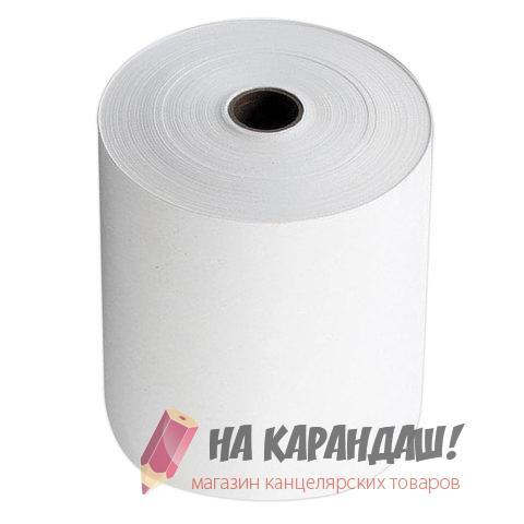 Кассовая лента 80*80*12 термо 80м BRAUBERG 110895 /6/42