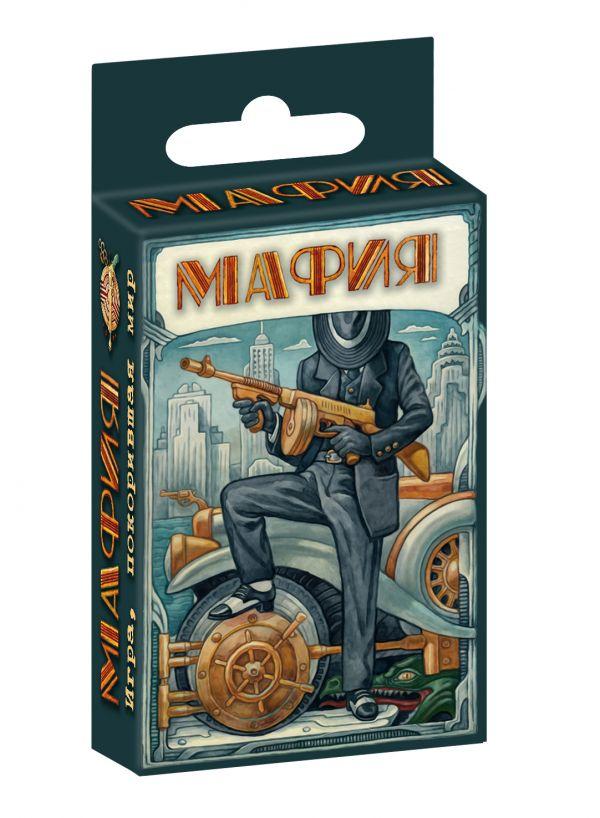 Игра настольная карточная Мафия 16+ 91411-1 Машина