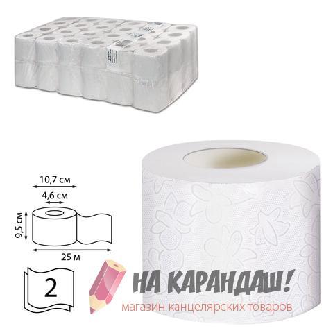 Туалетная бумага с/в 2сл 25м Veiro Comfort Т207