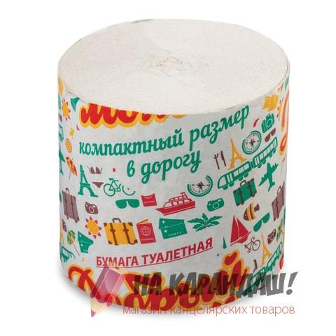 Туалетная бумага б/в 1сл 25м (супер-эконом) 50378 / 126554