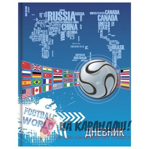 Дневник 5-11кл 48л ТП Brauberg 104961 Мир футбола