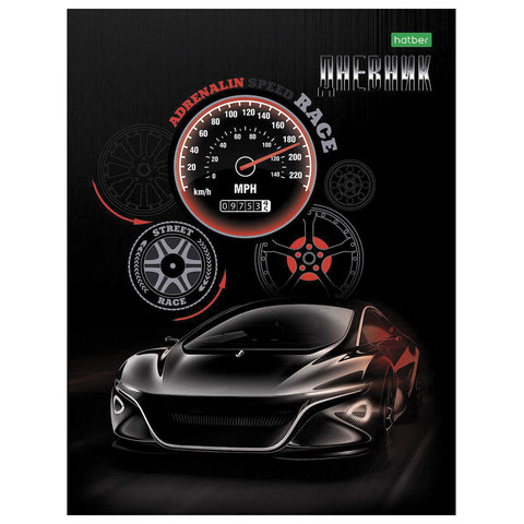 Дневник 1-11кл 40л ТП Hatber 20647 Sport car