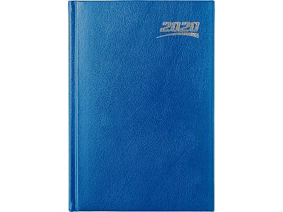 Ежедневник датир 2020 А5 Index IDD1620/A5/BU 336с лин Profy синий