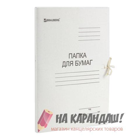 Папка карт н/завяз 280гр Brauberg 110924 /200/