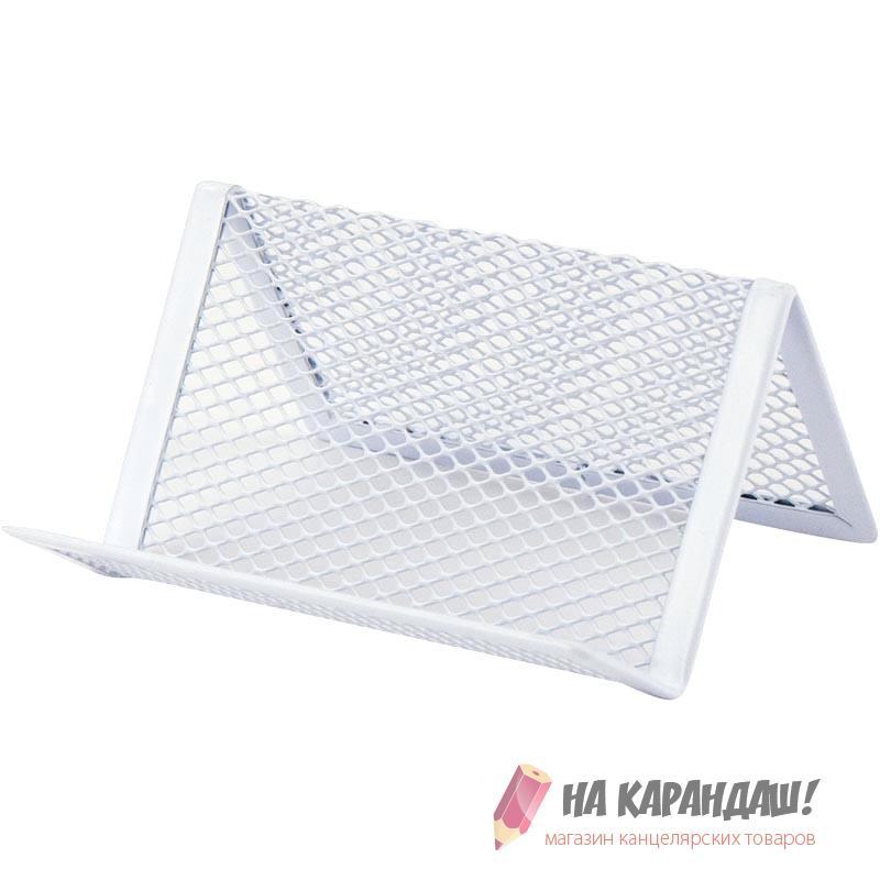 Подст д/визиток мет AX 2114-21 95*80*60мм белая