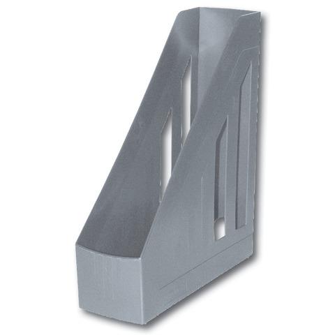 Лоток верт 85мм Brauberg 230887 Contract серый /4/
