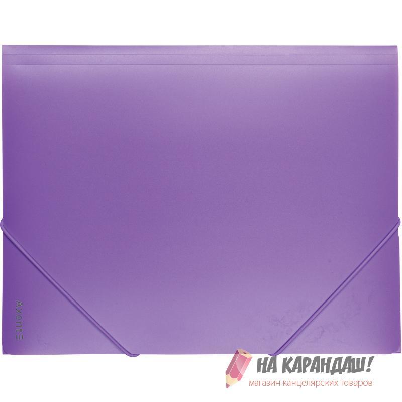Папка н/рез А4 Axent Pastelini 1504-36 430мк 35мм н/пр сирен