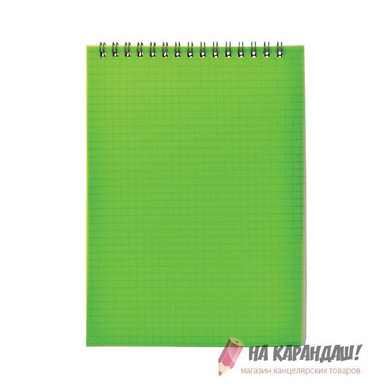 Блокнот А5 н/сп 40л кл ПО SNPcl-5/40gn-1 А19640 зелен