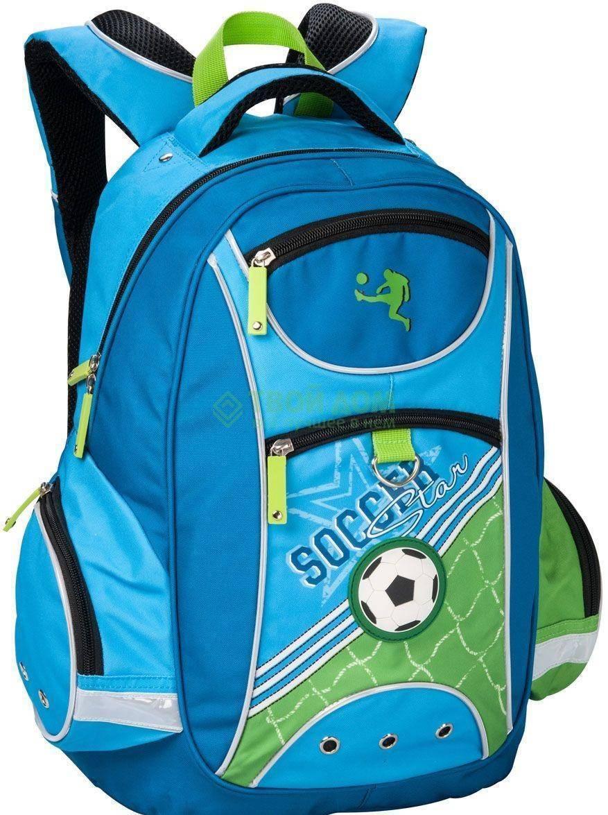 Ранец шк мал 9-11лет Soccer 38*28*14см ЕК37170