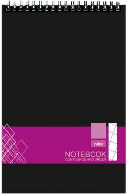 Блокнот А7 н/сп 40л кл ТП для конференций Index INO0101-A740