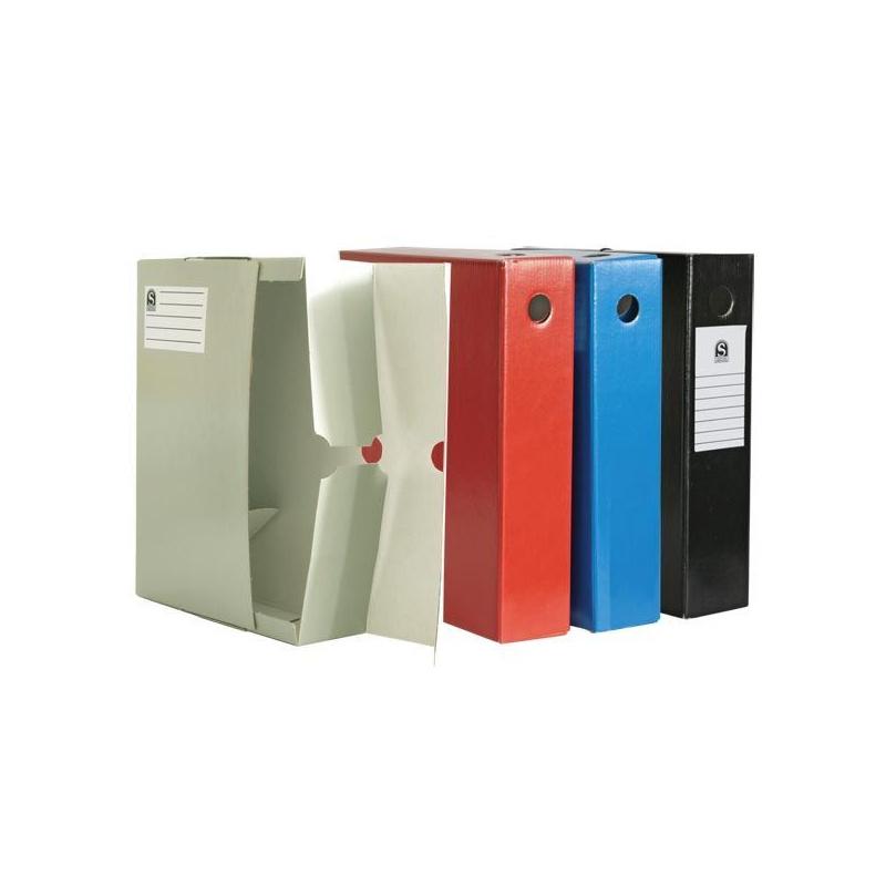 Бокс архив карт 75мм Sponsor SAB711/BU синий