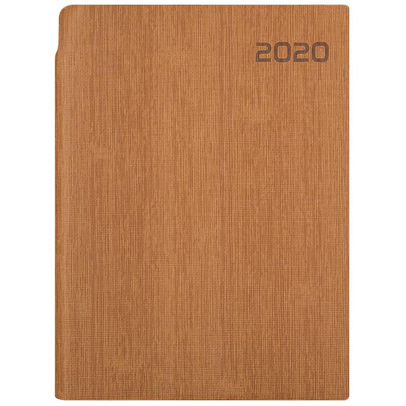 Ежедн 2020 А5 Index IDD0920/A5/BR 336с лин Agent коричн