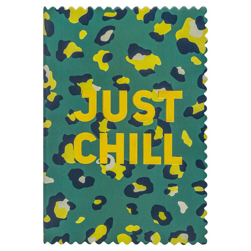 Ежедн 2020 А5 Index IDD4020/A5/GN 336с лин Just Chill зелен