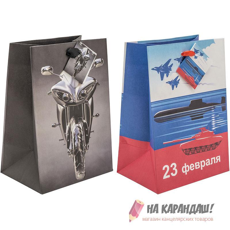 Пакет подар бум крафт 140*200*100мм BG9275M