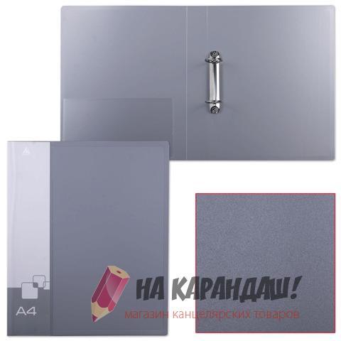 Папка 2-к А4 с карм 40мм Бюрократ 0812/2R mix