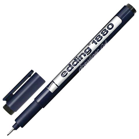 Линер 0.4мм Edding Drawliner E-1880-0.4/1 черн