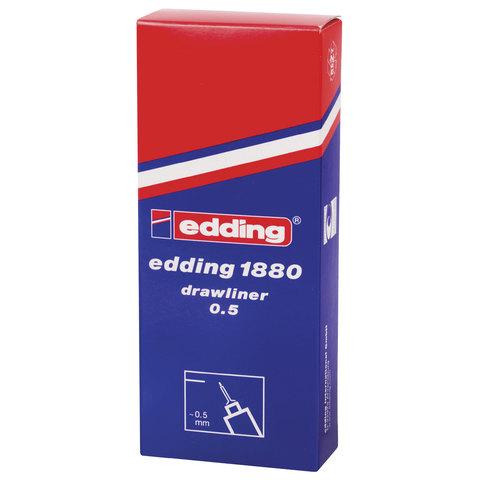 Линер 0.5мм Edding Drawliner E-1880-0.5/1 черн