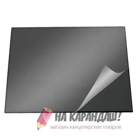 Покрытие настол 650*520мм Durable 7203-01 с пр лист черн