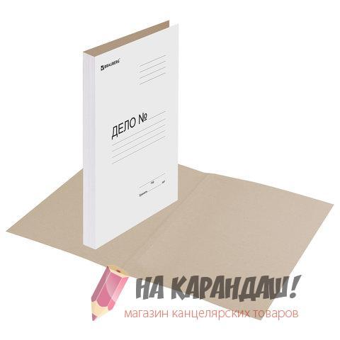 Папка карт Дело 440гр Brauberg 110928 /150/