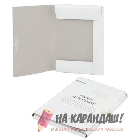 Папка карт н/завяз 440гр Brauberg 110925 /200/