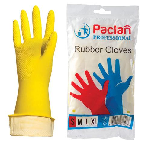"Перчатки резиновые S Paclan \""Professional\"" пара 602486"