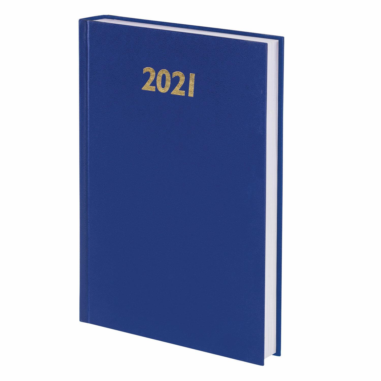Ежедн 2021 А5 Staff 160л БВ синий 111812