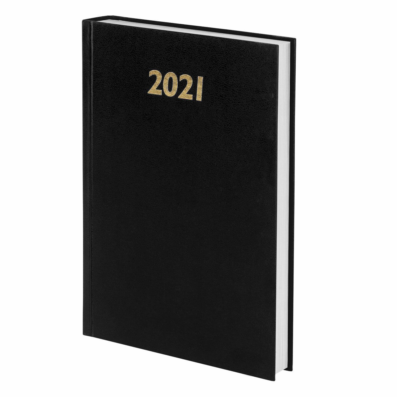 Ежедн 2021 А5 Staff 160л БВ черный 111814